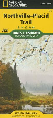Northville-Placid Trail (National Geographic Trails Illustrated Map #736) Cover Image