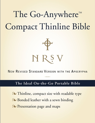 Go-Anywhere Compact Thinline Bible-NRSV-With Apocrypha Cover Image
