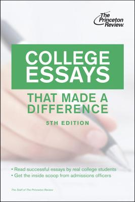 College Essays That Made a Difference Cover