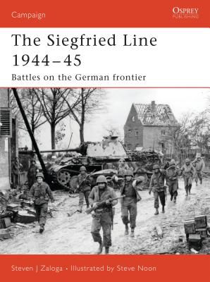 The Siegfried Line 1944-45 Cover