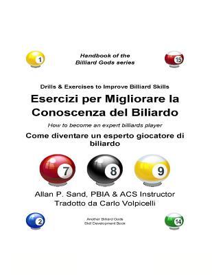 Esercizi Per Migliorare La Conoscenza del Biliardo: Come Diventare Un Esperto Giocatore Di Biliardo Cover Image
