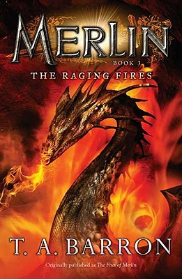 The Raging Fires: Book 3 (Merlin Saga #2) Cover Image