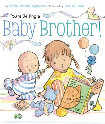 Cover for You're Getting a Baby Brother!