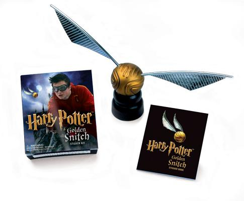 Harry Potter Golden Snitch Sticker Kit (Miniature Editions) Cover Image