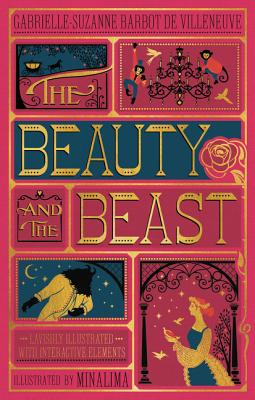The Beauty and the Beast (Illustrated with Interactive Elements) Cover Image