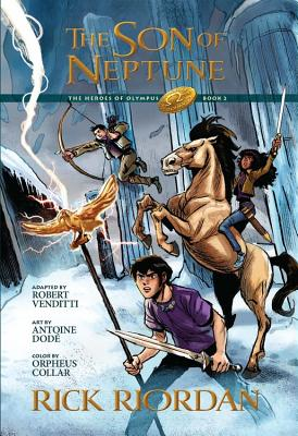 The Heroes of Olympus, Book Two, The Son of Neptune: The Graphic Novel Cover Image