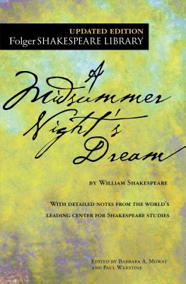 A Midsummer Night's Dream (Folger Shakespeare Library) Cover Image