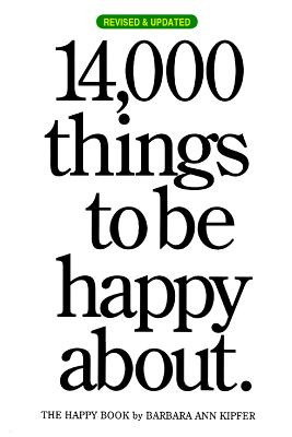 14,000 Things to Be Happy About. Cover