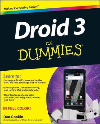 Droid 3 for Dummies Cover