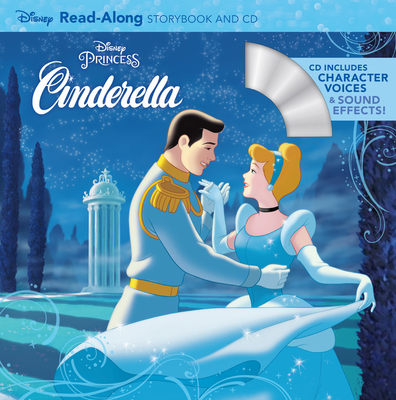 Cinderella Read-Along Storybook and CD Cover Image