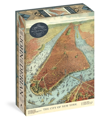 John Derian Paper Goods: The City of New York 750-Piece Puzzle Cover Image