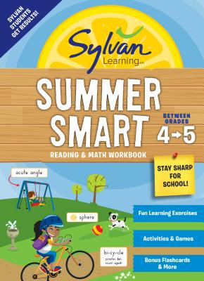 Sylvan Summer Smart Workbook: Between Grades 4 & 5 (Sylvan Summer Smart Workbooks) Cover Image
