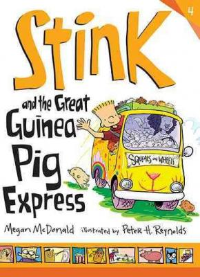Stink and the Great Guinea Pig Express Cover Image