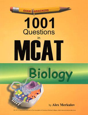 1001 Questions in MCAT Biology Cover Image