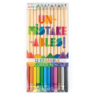 Unmistakeable Erasable Colored Pencils - Set of 12 Cover Image
