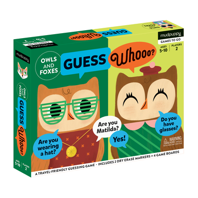 Owls and Foxes Guess Whooo? Cover Image