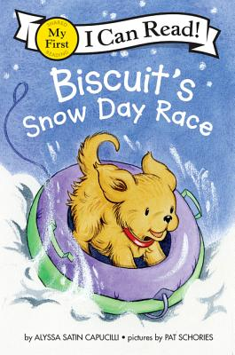 Biscuit's Snow Day Race (My First I Can Read) Cover Image