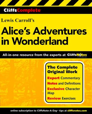CliffsComplete Alice's Adventures in Wonderland Cover Image