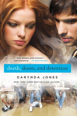 Cover for Death, Doom, and Detention (Darklight #2)