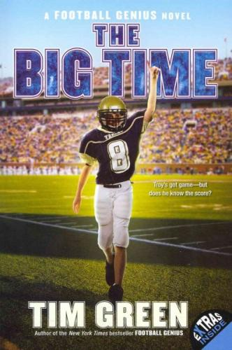 The Big Time (Football Genius #4) Cover Image