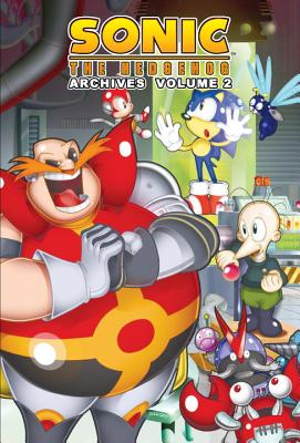 Sonic the Hedgehog Archives 2 Cover