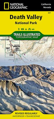Death Valley National Park (National Geographic Trails Illustrated Map #221) Cover Image
