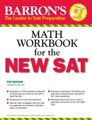 Barron's Math Workbook for the NEW SAT Cover Image