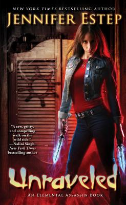 Unraveled (Elemental Assassin #15) Cover Image