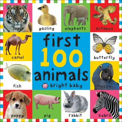 First 100 Animals. Cover Image