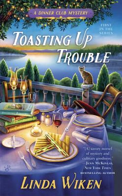 Toasting Up Trouble (A Dinner Club Mystery #1) Cover Image