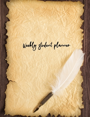 Weekly student planner Cover Image