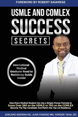 USMLE and Comlex Success Secrets Cover Image