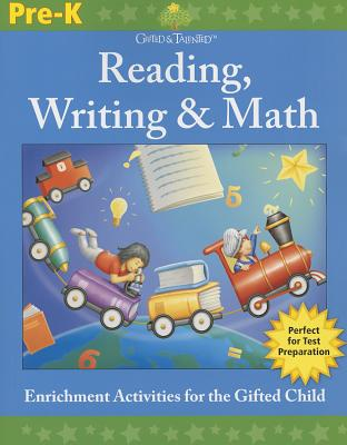 Gifted & Talented: Reading, Writing & Math, Grade Pre-K Cover Image