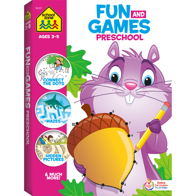 Fun & Games Preschool (Fun and Games) Cover Image
