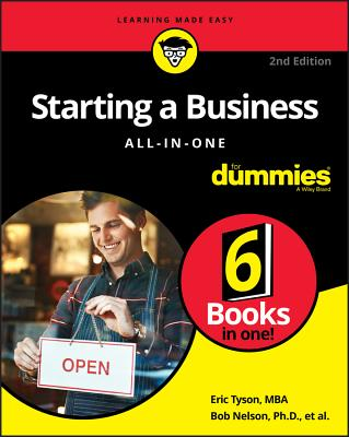 Starting a Business All-In-One for Dummies Cover Image