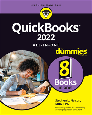 QuickBooks 2022 All-In-One for Dummies Cover Image