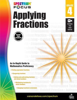 Spectrum Applying Fractions, Grade 4 (Spectrum Focus) Cover Image