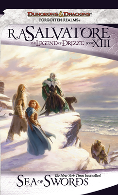 Cover for Sea of Swords (The Legend of Drizzt #13)