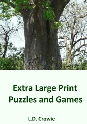 Extra Large Print Puzzles and Games Cover Image