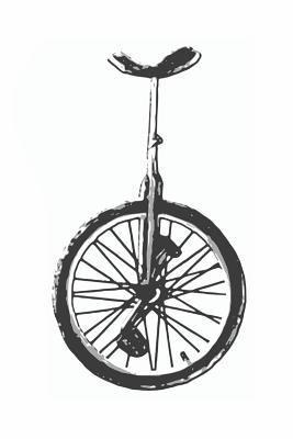 Unicycle Notebook Cover Image