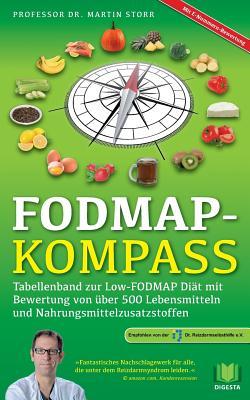 FODMAP-Kompass: Tabellenband zur Low-FODMAP Diät mit Bewertung von über 500 Lebensmitteln und Nahrungsmittelzusatzstoffen Cover Image
