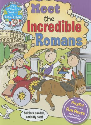 Cover for Meet the Incredible Romans