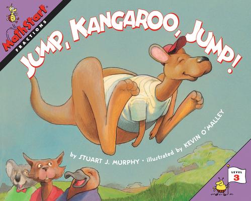 Jump, Kangaroo, Jump! (MathStart 3) Cover Image