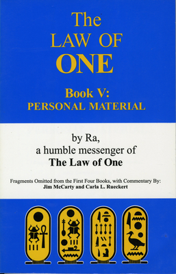 The Law of One: Book V: Personal Material Cover Image