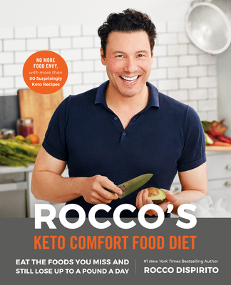 Rocco's Keto Comfort Food Diet: Eat the Foods You Miss and Still Lose Up to a Pound a Day Cover Image
