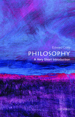 Philosophy: A Very Short Introduction Cover Image
