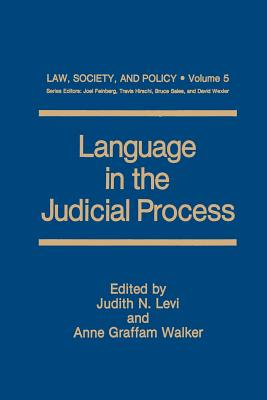 Language in the Judicial Process (Law #5) Cover Image