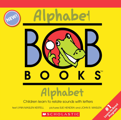 My First Bob Books - Alphabet Box Set | Phonics, Letter sounds, Ages 3 and up, Pre-K (Reading Readiness) Cover Image