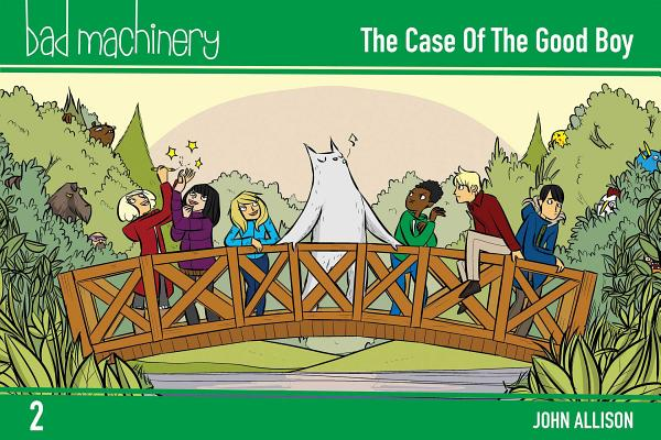 Cover for Bad Machinery Vol. 2