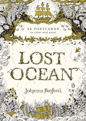 Lost Ocean: 36 Postcards to Color and Send Cover Image